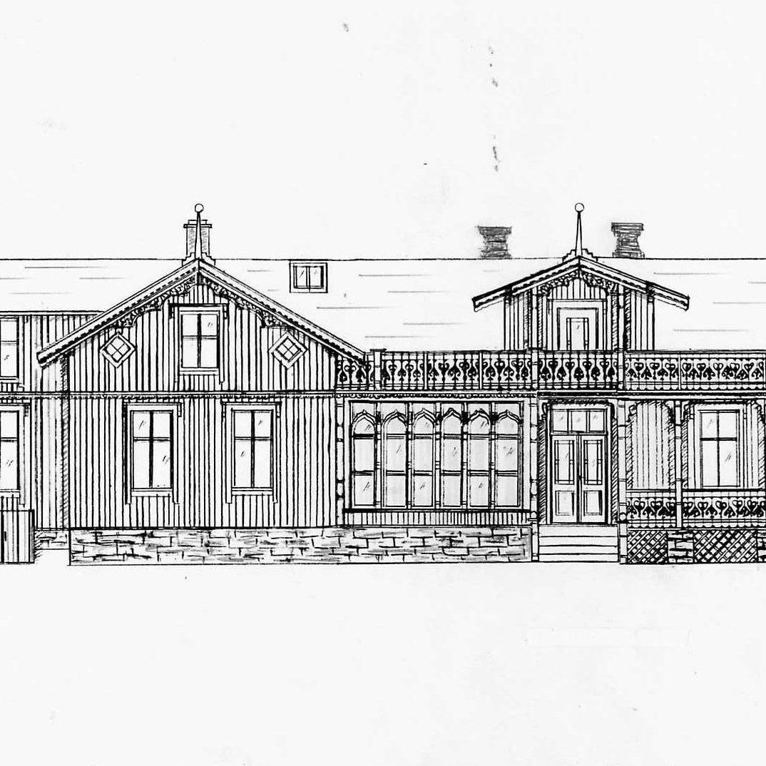 Line Evensen Hus fasade vest 2008 (2) kopi